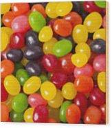 Jelly Beans Wood Print