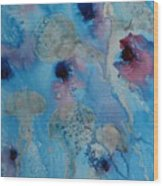 Jelly Fish Abstract Wood Print