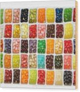 Jellybeans Wood Print