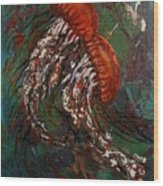 Jellyfish Dance Wood Print