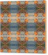Jellyfish Pattern Wood Print