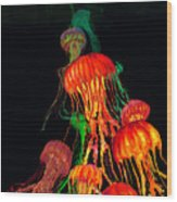 Jellys3 Wood Print