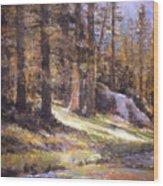 Jemez Light Wood Print