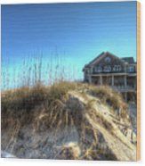 Jennettes Pier Nags Head North Carolina Wood Print