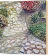Jennifers Garden Wood Print