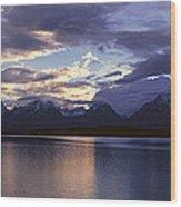 Jenny Lake, Grand Teton National Park Wood Print