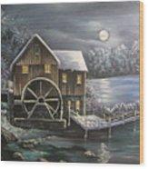 Jenny Mill Wood Print