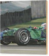 Jenson Button, Honda Ra107  Wood Print