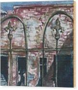 Jerome Ruins Wood Print