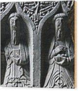 Jerpoint Abbey Irish Tomb Weepers Saints County Kilkenny Ireland Wood Print