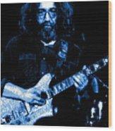 Jerry At Winterland 5 Wood Print