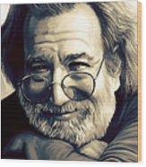 Jerry Garcia Artwork  Wood Print
