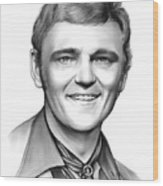 Jerry Reed Wood Print