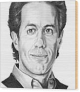 Jerry Seinfeld Wood Print