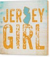 Jersey Girl Wood Print