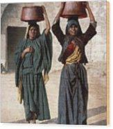 Jerusalem - Milk Seller Wood Print