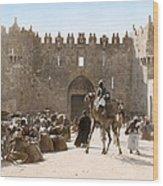 Jerusalem: Caravan, C1919 Wood Print
