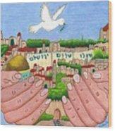 Jerusalem Image Wood Print