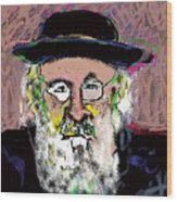 Jerusalem Man No. 2 Wood Print