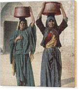 Jerusalem: Milk Seller Wood Print