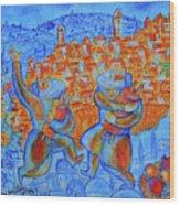 Jerusalem Of Gold Wood Print
