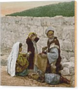 Jerusalem Shoemaker, C1900 Wood Print