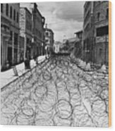Jerusalem: Street, 1948 Wood Print