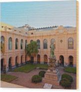 Jesuit Block, Cordoba, Argentina Wood Print