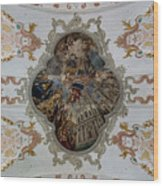 Jesuitenkirche -- Lucerne Jesuit Church Wood Print