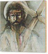 Jesus 3 Wood Print