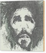Jesus - 4 Wood Print