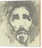 Jesus - 6 Wood Print