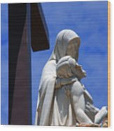 Jesus And Maria Wood Print