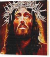 Jesus Christ Our Savior Wood Print by Pamela Johnson