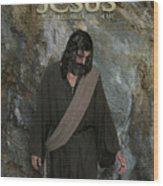 Jesus Christ- Rise And Walk With Me Wood Print