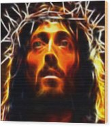 Jesus Christ The Savior Wood Print