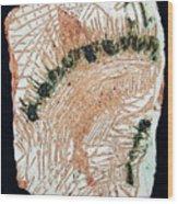 Jesus Crucified Wood Print