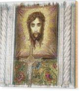 Jesus I Wood Print