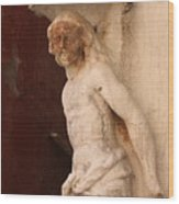 Jesus In Venice Wood Print