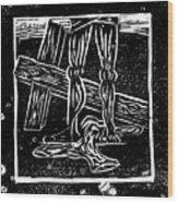 Jesus Is Stripped Of His Cloths Wood Print