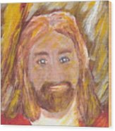 Jesus Is The Christ The Holy Messiah 5 Wood Print by Richard W Linford