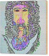Jesus King Of Peace Wood Print