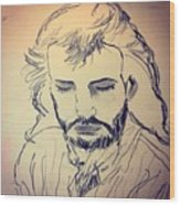 Jesus Life Wood Print