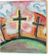 Jesus Loves You Wood Print