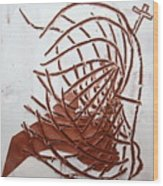 Jesus Of Gethsemane - Tile Wood Print
