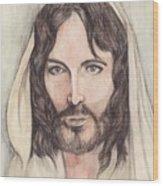 Jesus Of Nazereth Wood Print