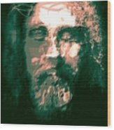 Jesus The Man Wood Print