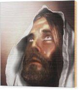 Jesus Wept Wood Print