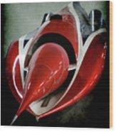 Jet Car Wood Print