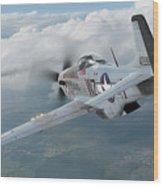 Jet Hunting Wood Print